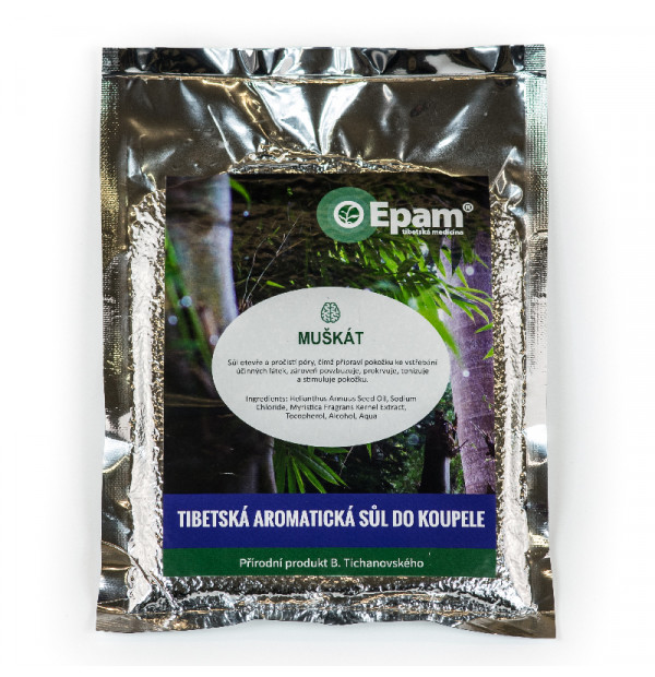 Muskat - Badesalz Epam 250g
