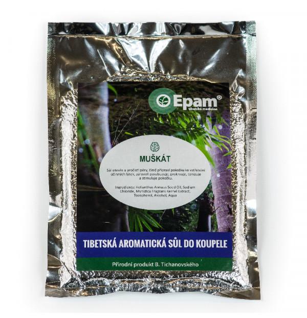 Muškát - sůl do koupele Epam 250 g