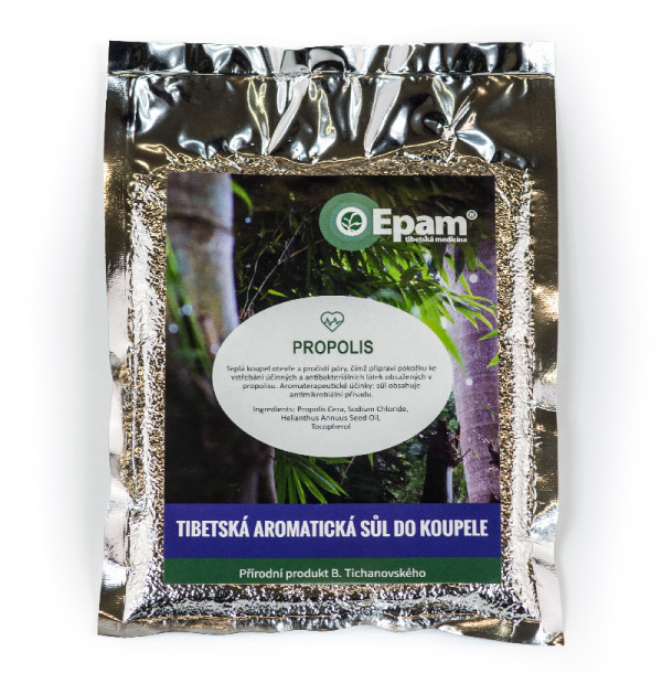 Propolis - sůl do koupele Epam 250 g
