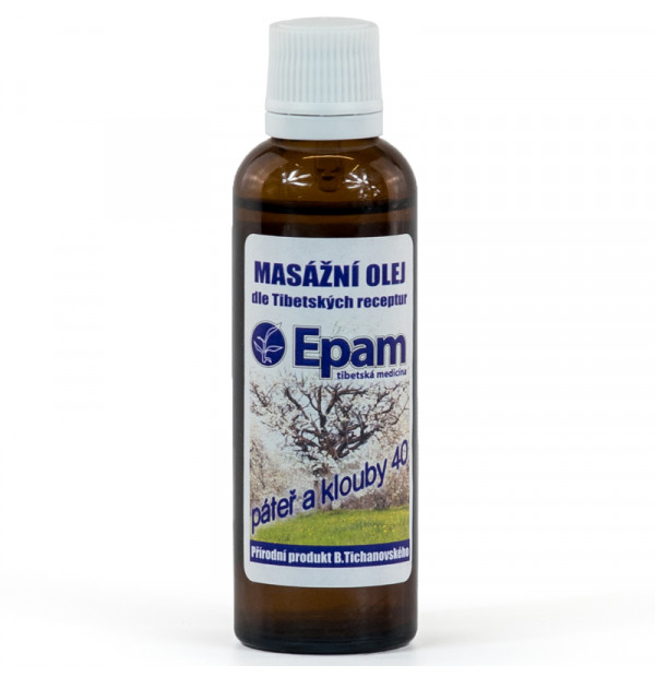 Epam Oil 40 - For Back and Musculoskeletal System 50 ml