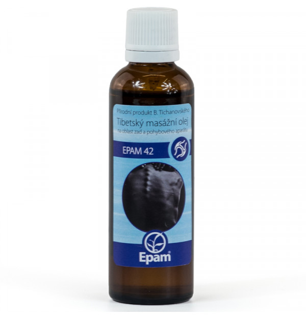 Epam Oil 42 - For Back and Musculoskeletal System 50 ml